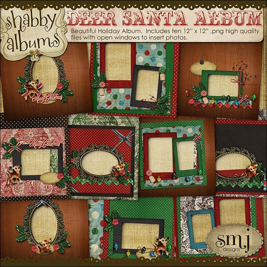 SMJ_Preview_Deer_Santa_Album_01