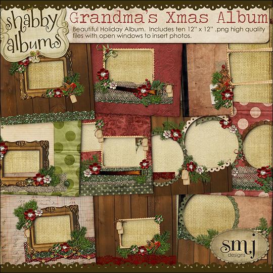 SMJ_Preview_Grandmas_Xmas_Album_01