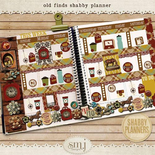 SMJ_Preview_Shabby_Planner_Old_Finds_Planner_02