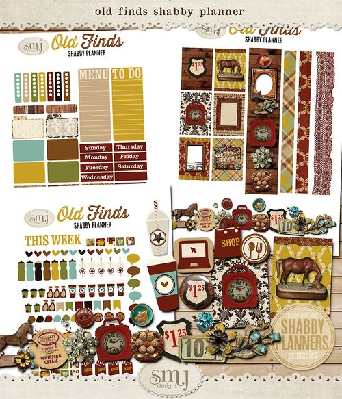SMJ_Preview_Shabby_Planner_Old_Finds_Planner_01